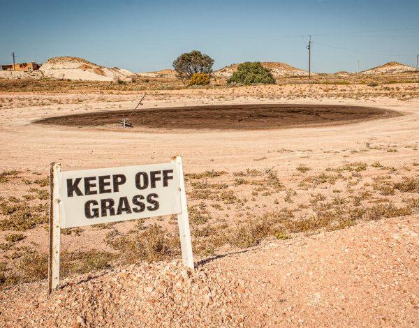 Coober Pedy: Le golf autrement