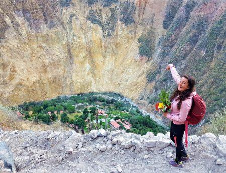 Fêter son anniversaire dans le canyon de Colca