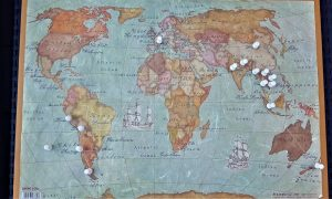 Tour du monde : Notre itinéraire