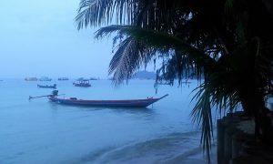 Koh Tao, les pieds dans l'eau