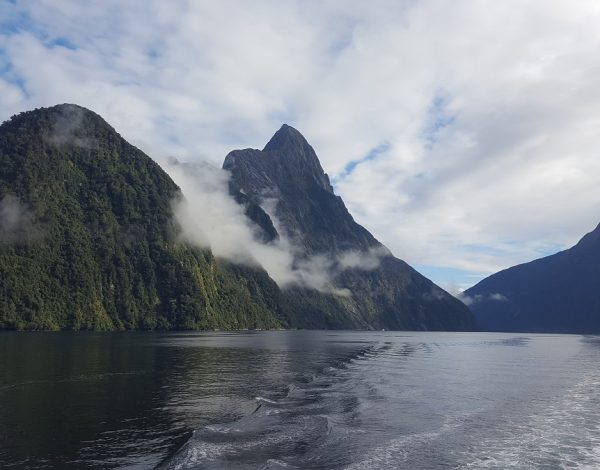 Nouvelle-Zélande, Parc National de Fjordland : Le Milford Sound
