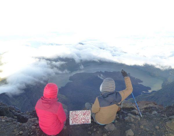 Le trek du volcan Rinjani