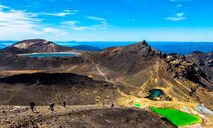 Tongariro Northern Circuit : Le beaucoup méchant Mordor