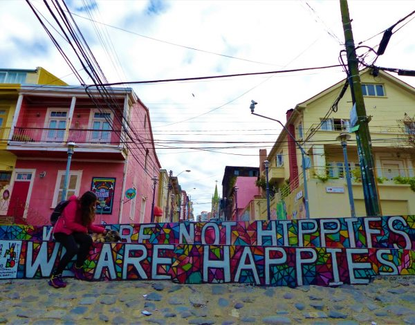 Valparaiso, la vallée du Paradis