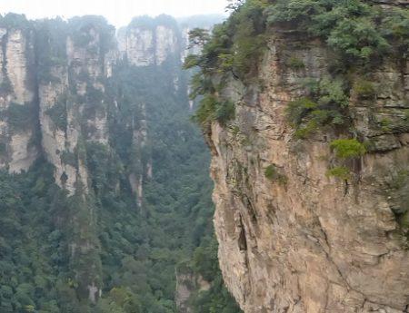 Zhangjiajie, le parc national entre ciel et terre